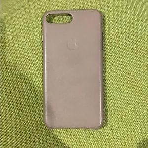 Apple iPhone 8 Plus leather phone case